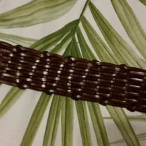 Etienne Aigner Accessories - Etienne Aigner Leather Braided Belt